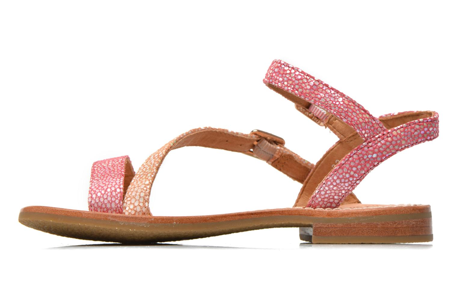 Sandals Mellow Yellow Mnvaloma Pink front view