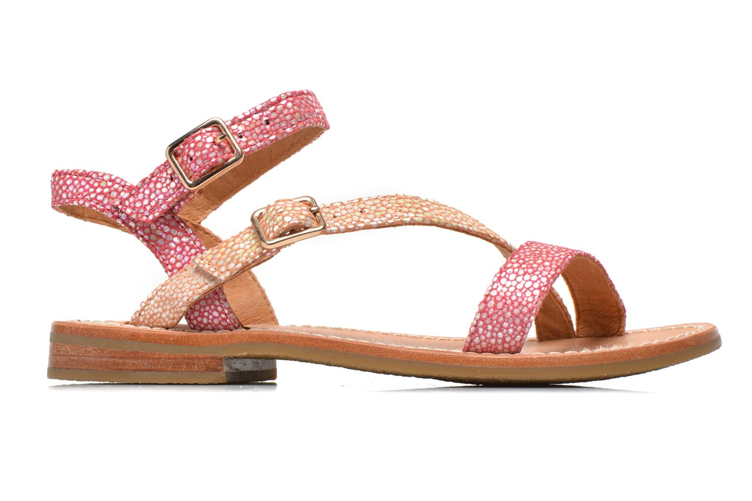 Sandals Mellow Yellow Mnvaloma Pink back view
