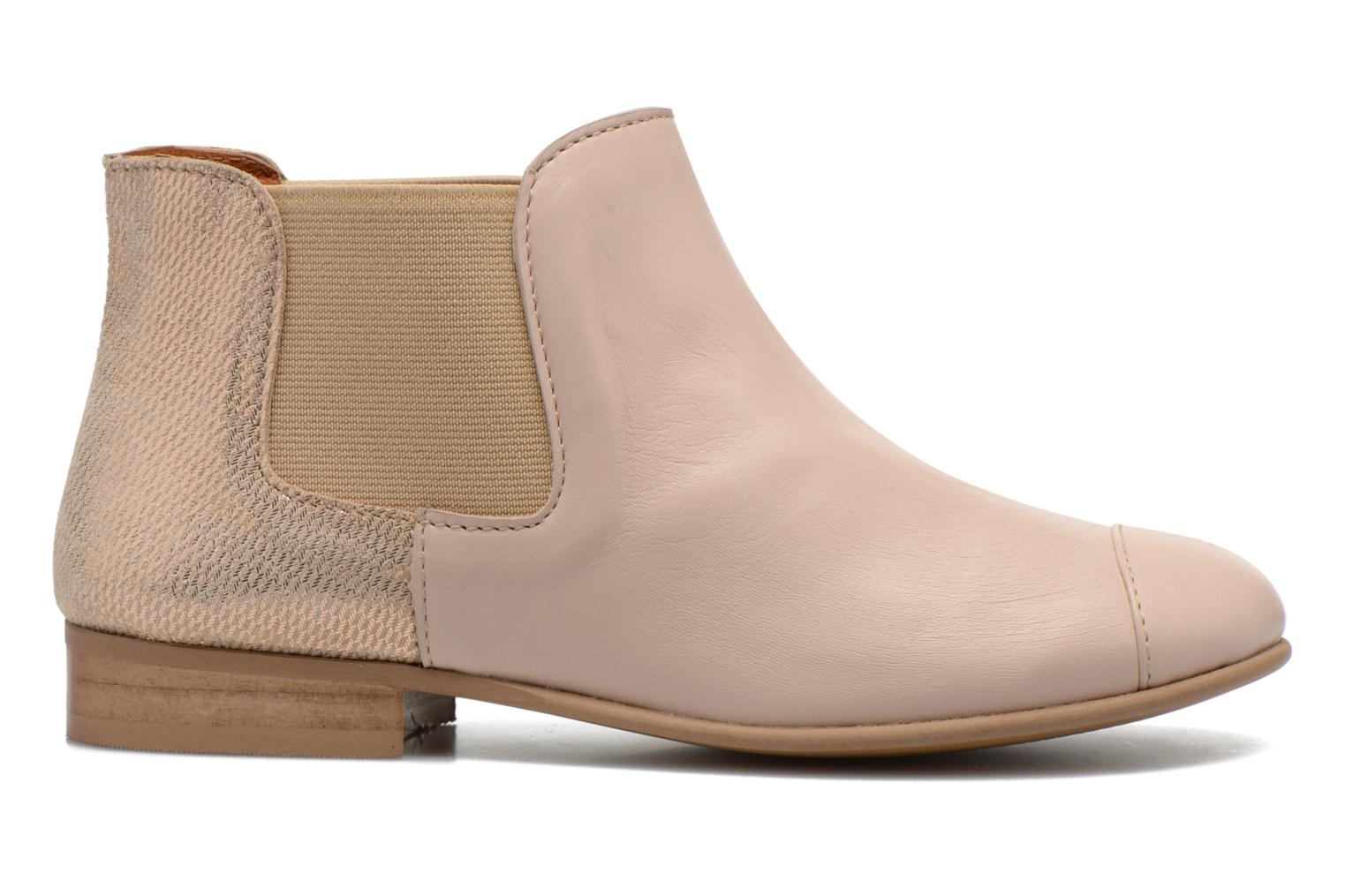 Ankle boots Mellow Yellow Mnvimalia Pink back view