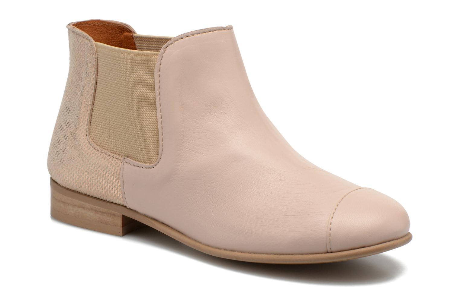 Ankle boots Mellow Yellow Mnvimalia Pink detailed view/ Pair view