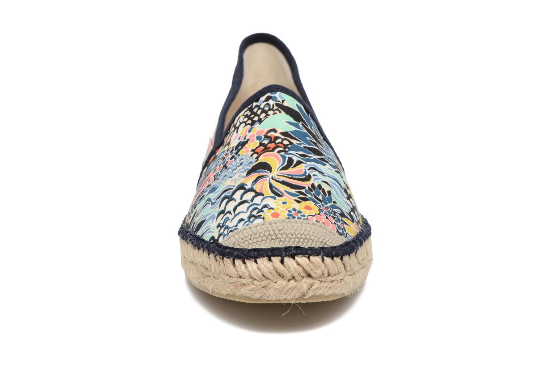 Espadrilles Pare Gabia VP mix Bleu vue portées chaussures