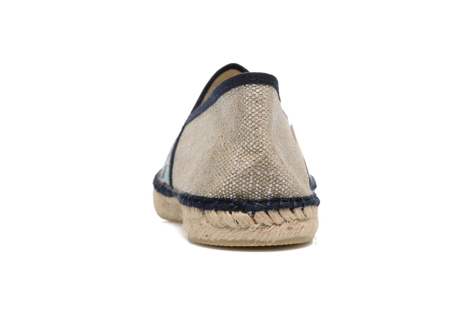 Espadrilles Pare Gabia VP mix Blue view from the right