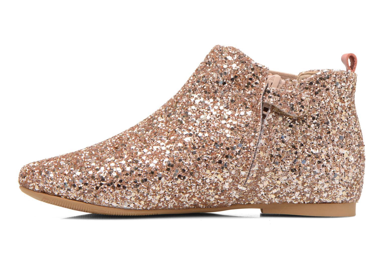 Ankle boots Manuela de Juan Eloise Pink front view