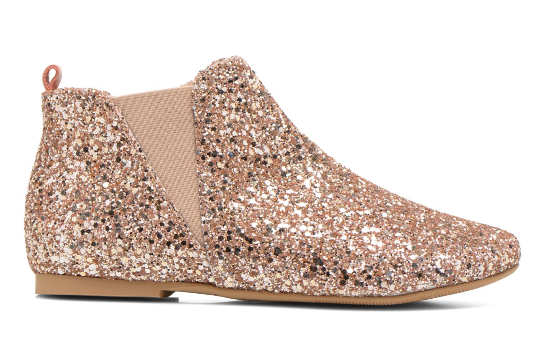 Ankle boots Manuela de Juan Eloise Pink back view