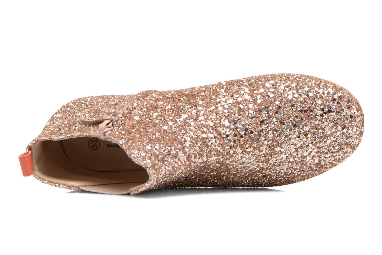 Bottines et boots Manuela de Juan Eloise Rose vue gauche