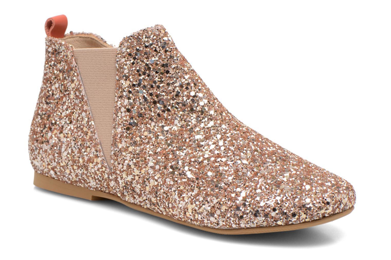 Ankle boots Manuela de Juan Eloise Pink detailed view/ Pair view