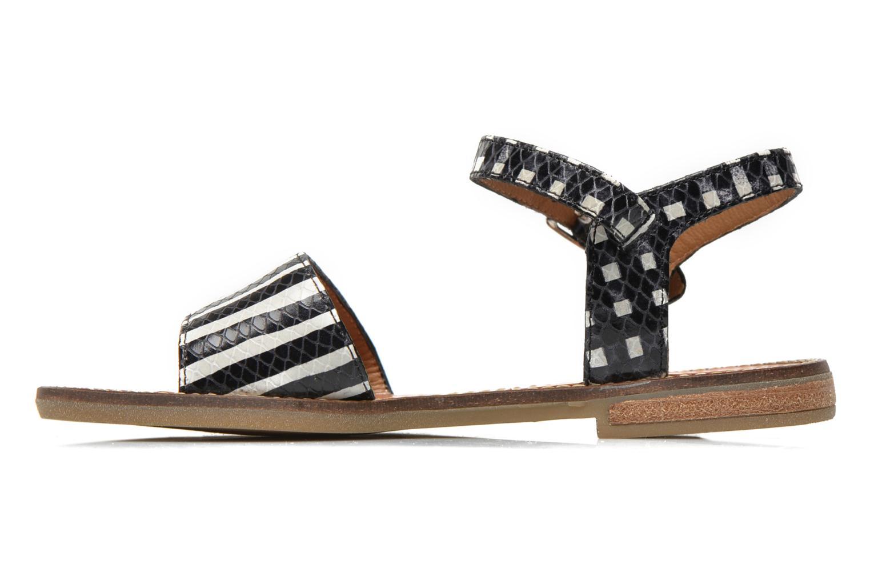 Sandali e scarpe aperte Pom d Api Nikky Sandal Eyeliner Nero immagine frontale