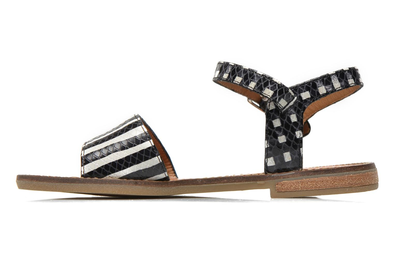 Sandales et nu-pieds Pom d Api Nikky Sandal Eyeliner Noir vue face