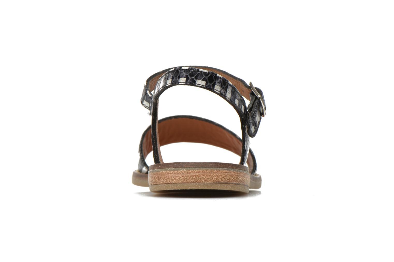 Sandales et nu-pieds Pom d Api Nikky Sandal Eyeliner Noir vue droite