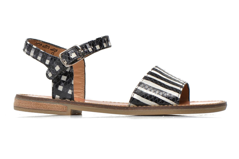 Sandales et nu-pieds Pom d Api Nikky Sandal Eyeliner Noir vue derrière