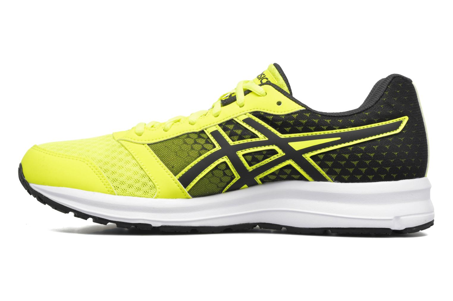 Sport shoes Asics Patriot 8 Yellow front view