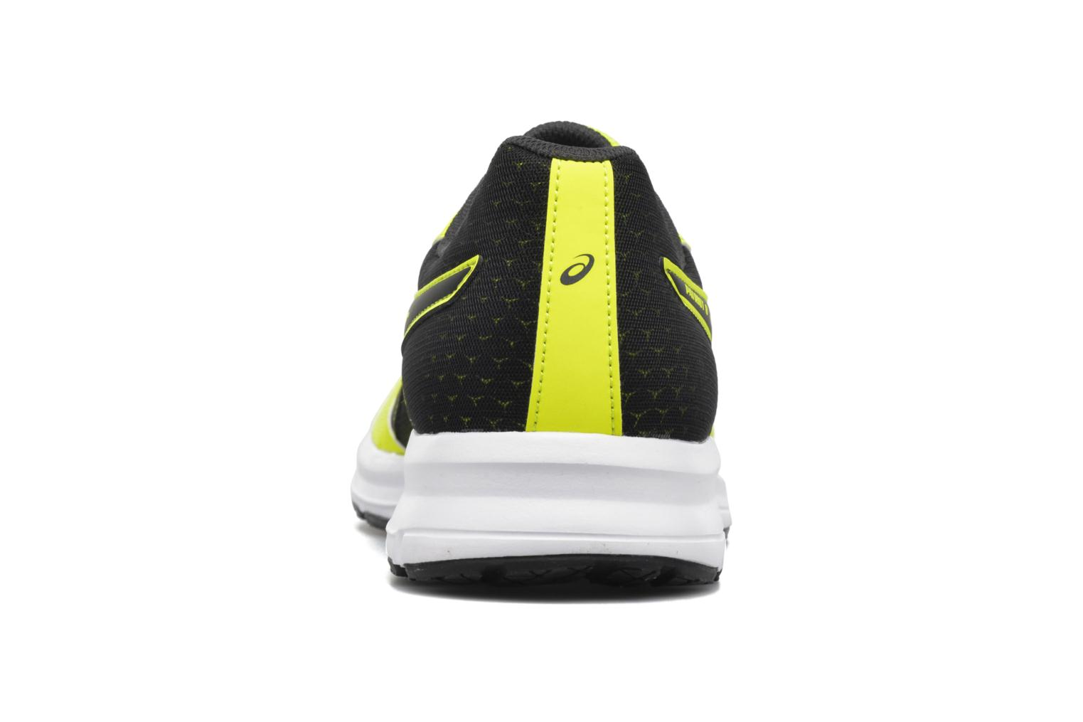 Sport shoes Asics Patriot 8 Yellow view from the right