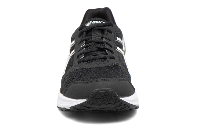 Sportschuhe Asics Patriot 8 schwarz schuhe getragen