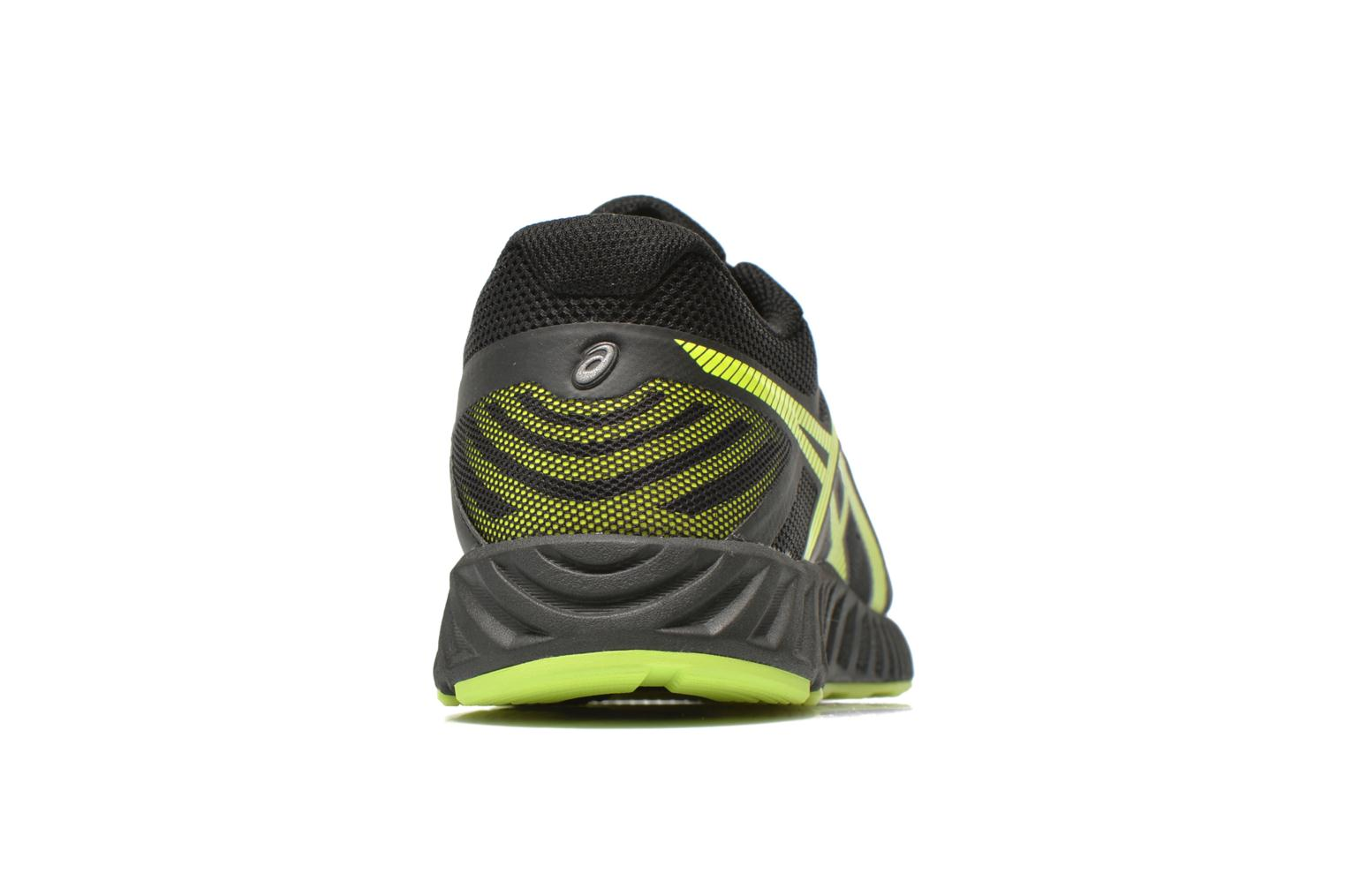 Sport shoes Asics Fuzex Lyte Black view from the right