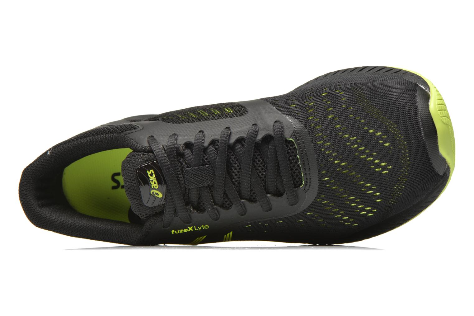 Sport shoes Asics Fuzex Lyte Black view from the left
