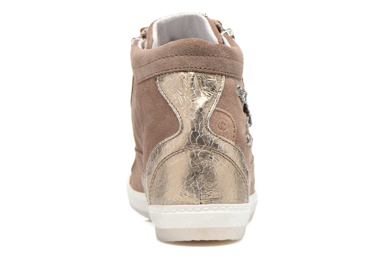 Sneaker Khrio Klerviena gold/bronze ansicht von rechts