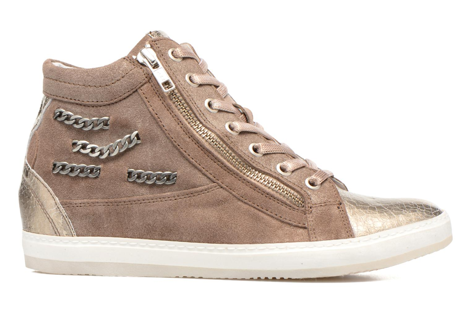 Trainers Khrio Klerviena Bronze and Gold back view