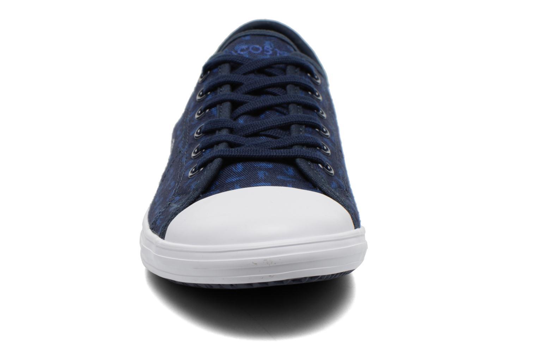 Baskets Lacoste Ziane Sneaker 116 2 Bleu vue portées chaussures