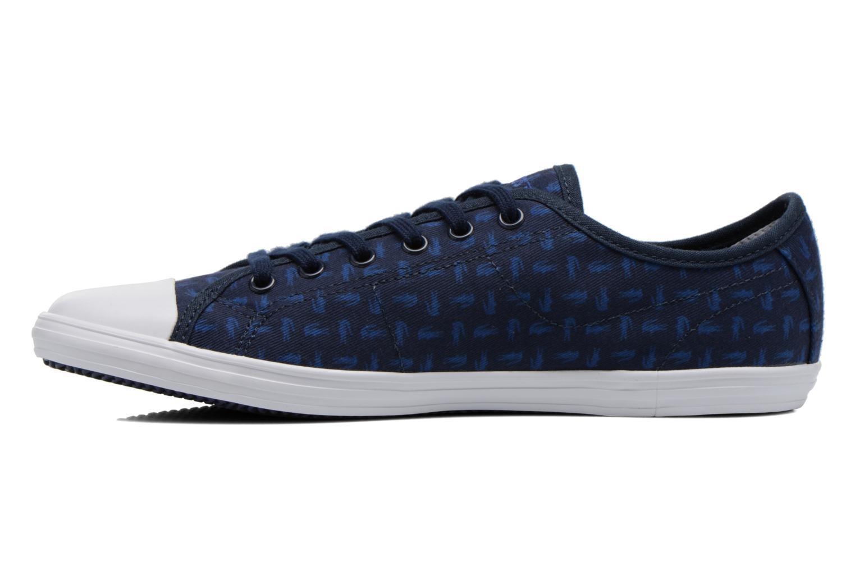Baskets Lacoste Ziane Sneaker 116 2 Bleu vue face