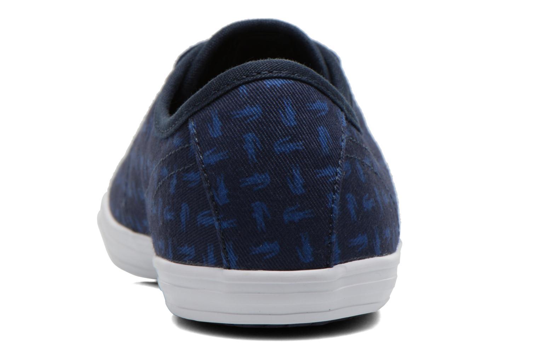 Baskets Lacoste Ziane Sneaker 116 2 Bleu vue droite