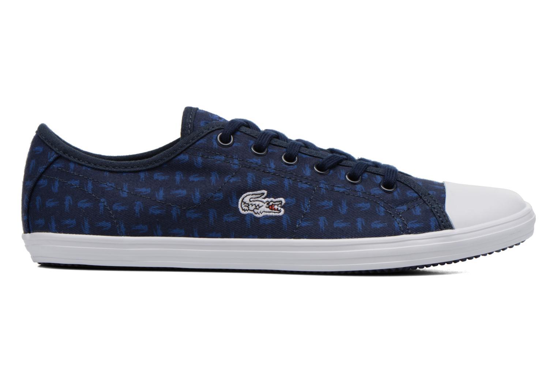Baskets Lacoste Ziane Sneaker 116 2 Bleu vue derrière