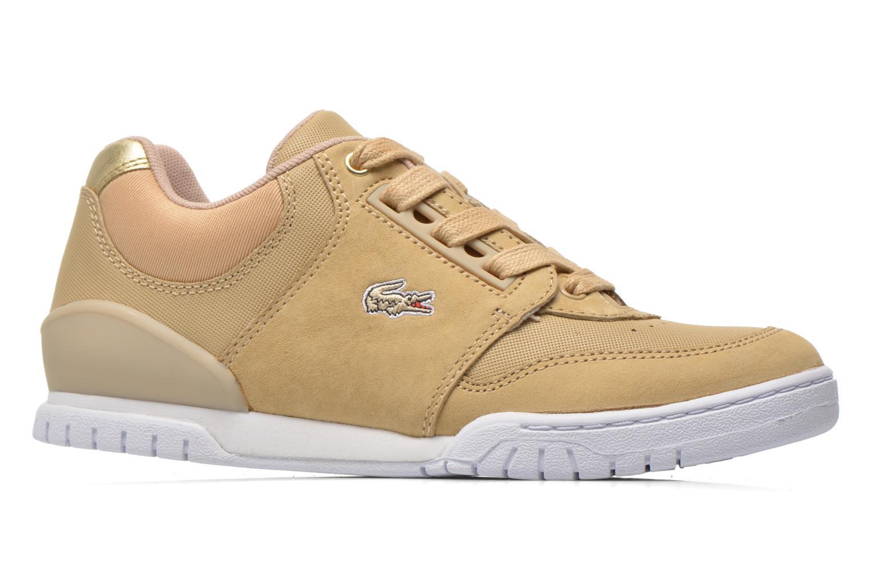 Sneaker Lacoste Indiana 116 G2 beige ansicht von hinten