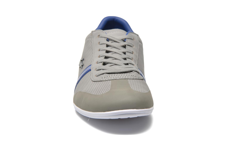 Baskets Lacoste Mokara 116 1 Gris vue portées chaussures