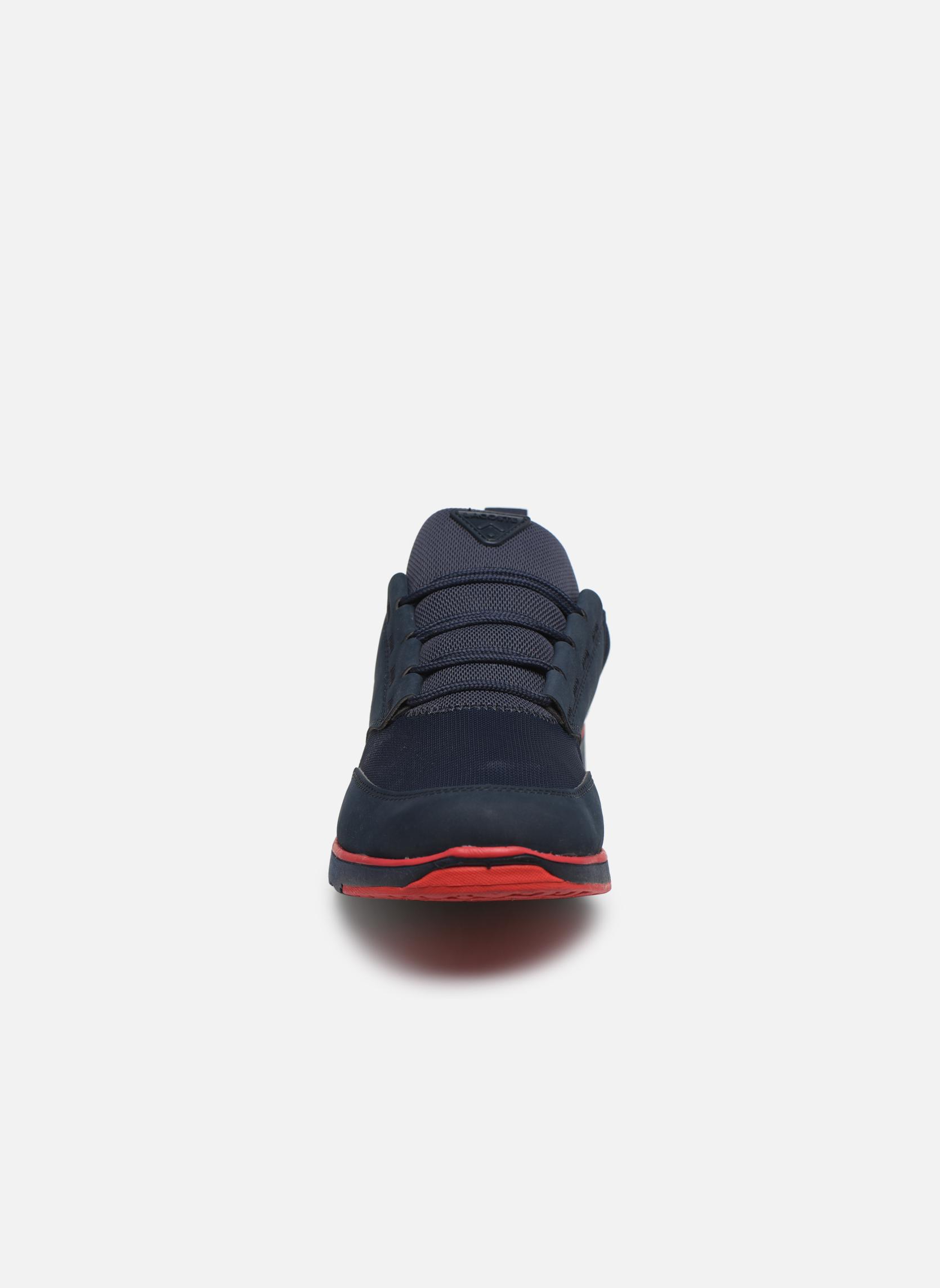 Baskets Lacoste L.Ight 116 1 Bleu vue portées chaussures