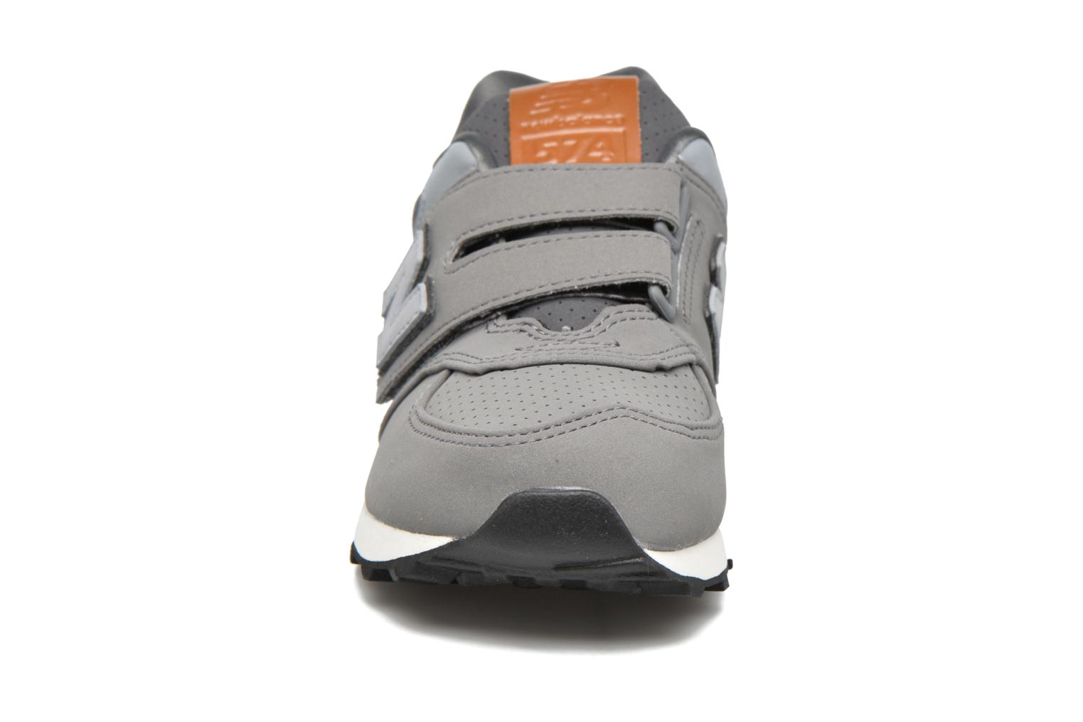 Trainers New Balance KV574 J Grey model view