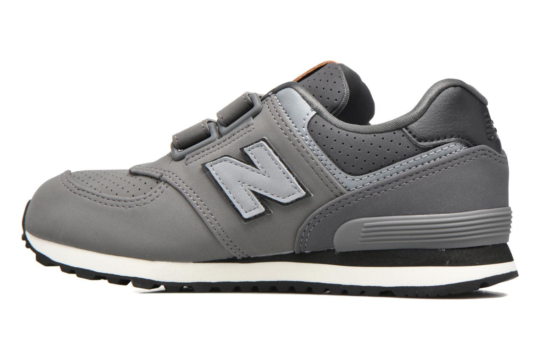 Sneakers New Balance KV574 J Grigio immagine frontale