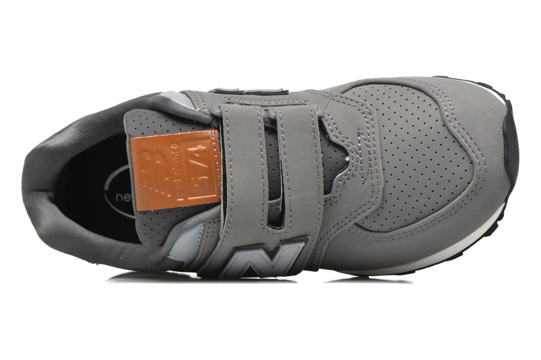 Sneakers New Balance KV574 J Grigio immagine sinistra
