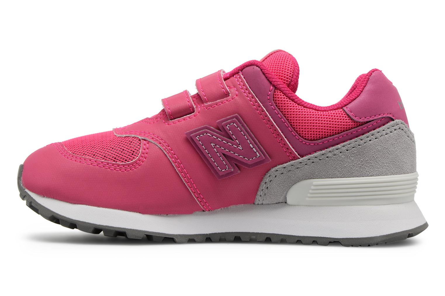 Trainers New Balance KV574 J Pink front view