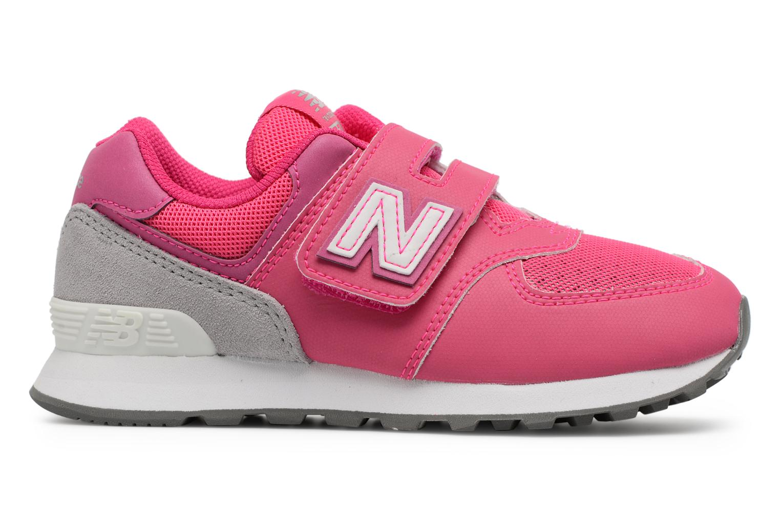 Trainers New Balance KV574 J Pink back view