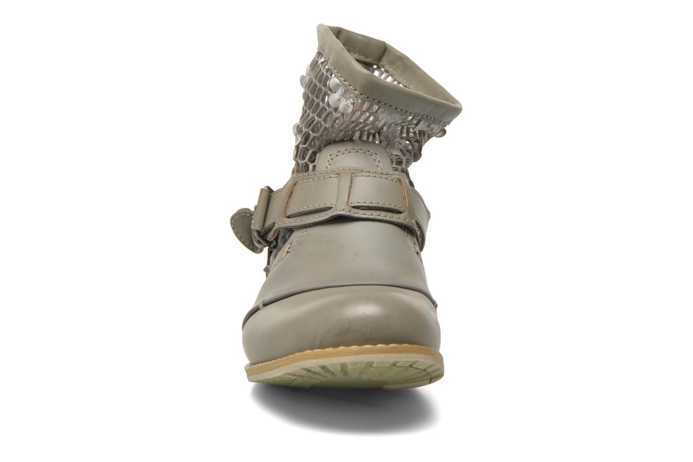 Bottines et boots Bunker Sara Tel Beige vue portées chaussures