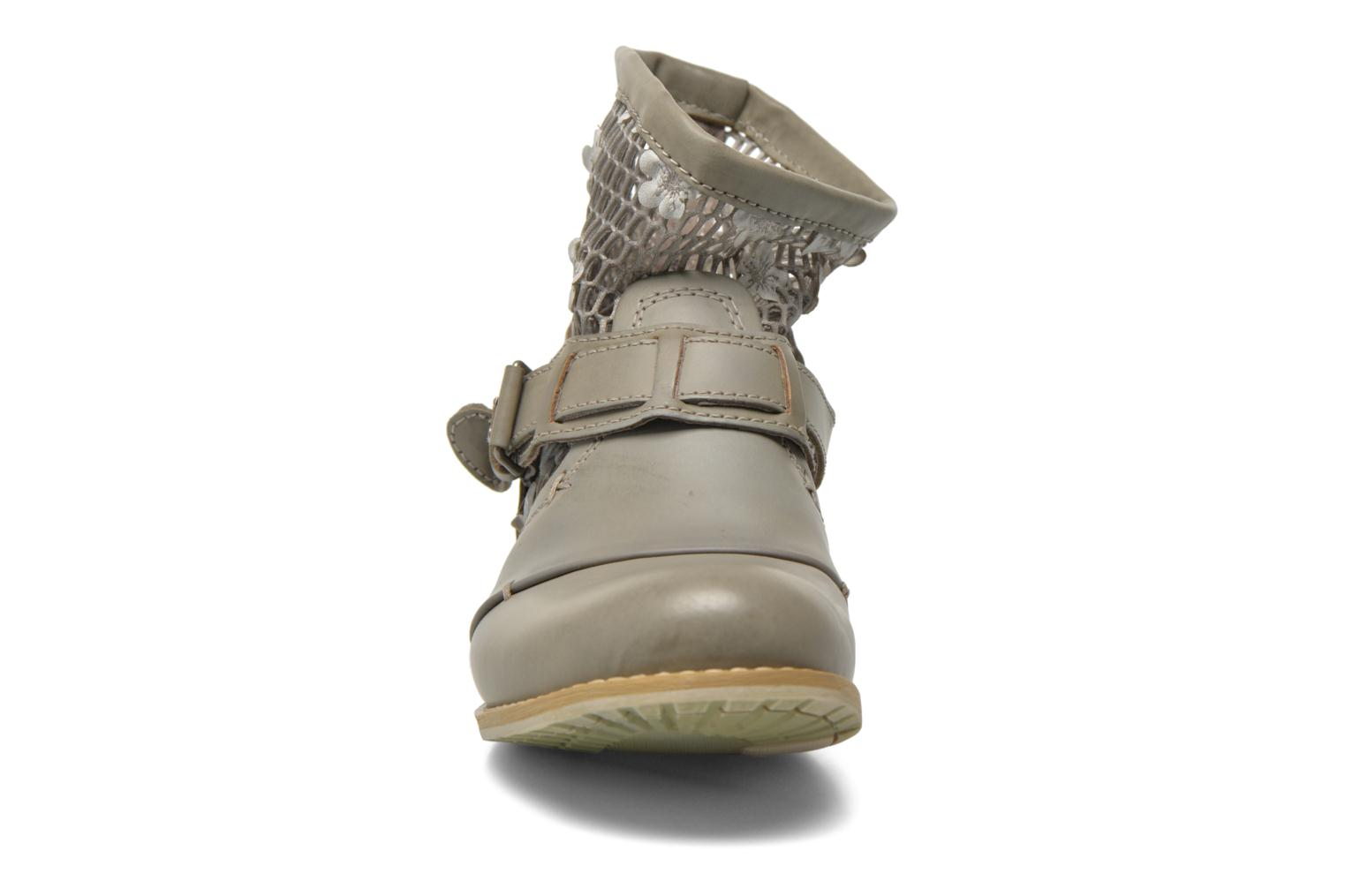 Ankle boots Bunker Sara Tel Beige model view