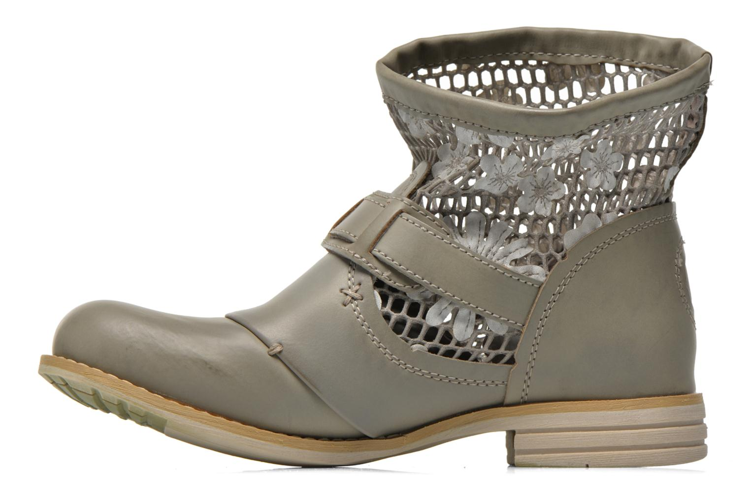 Ankle boots Bunker Sara Tel Beige front view