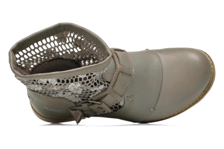 Bottines et boots Bunker Sara Tel Beige vue gauche