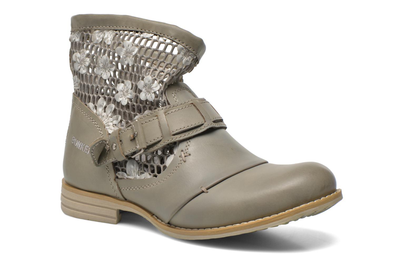 Bottines et boots Bunker Sara Tel Beige vue détail/paire