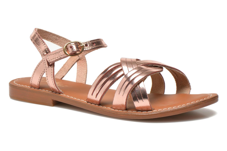 Zapatos promocionales L'Atelier Tropézien Violette (Rosa) - Sandalias   Venta de liquidación de temporada