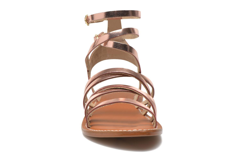 Sandali e scarpe aperte L'Atelier Tropézien Juliette Rosa modello indossato