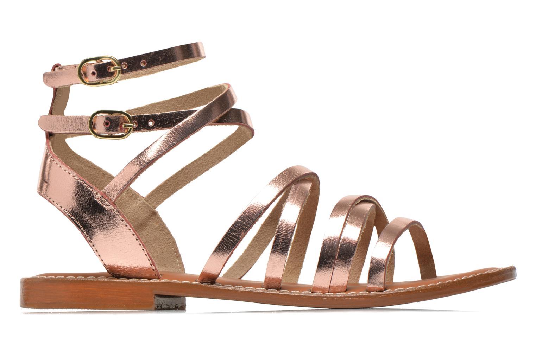 Sandales et nu-pieds L'Atelier Tropézien Juliette Rose vue derrière