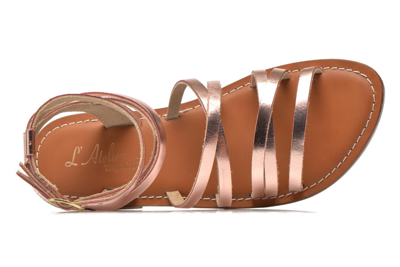 Sandali e scarpe aperte L'Atelier Tropézien Juliette Rosa immagine sinistra