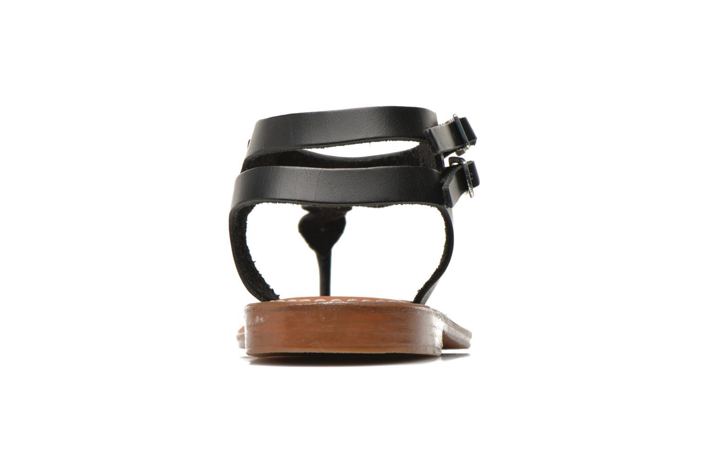 Sandales et nu-pieds L'Atelier Tropézien Fossette Noir vue droite