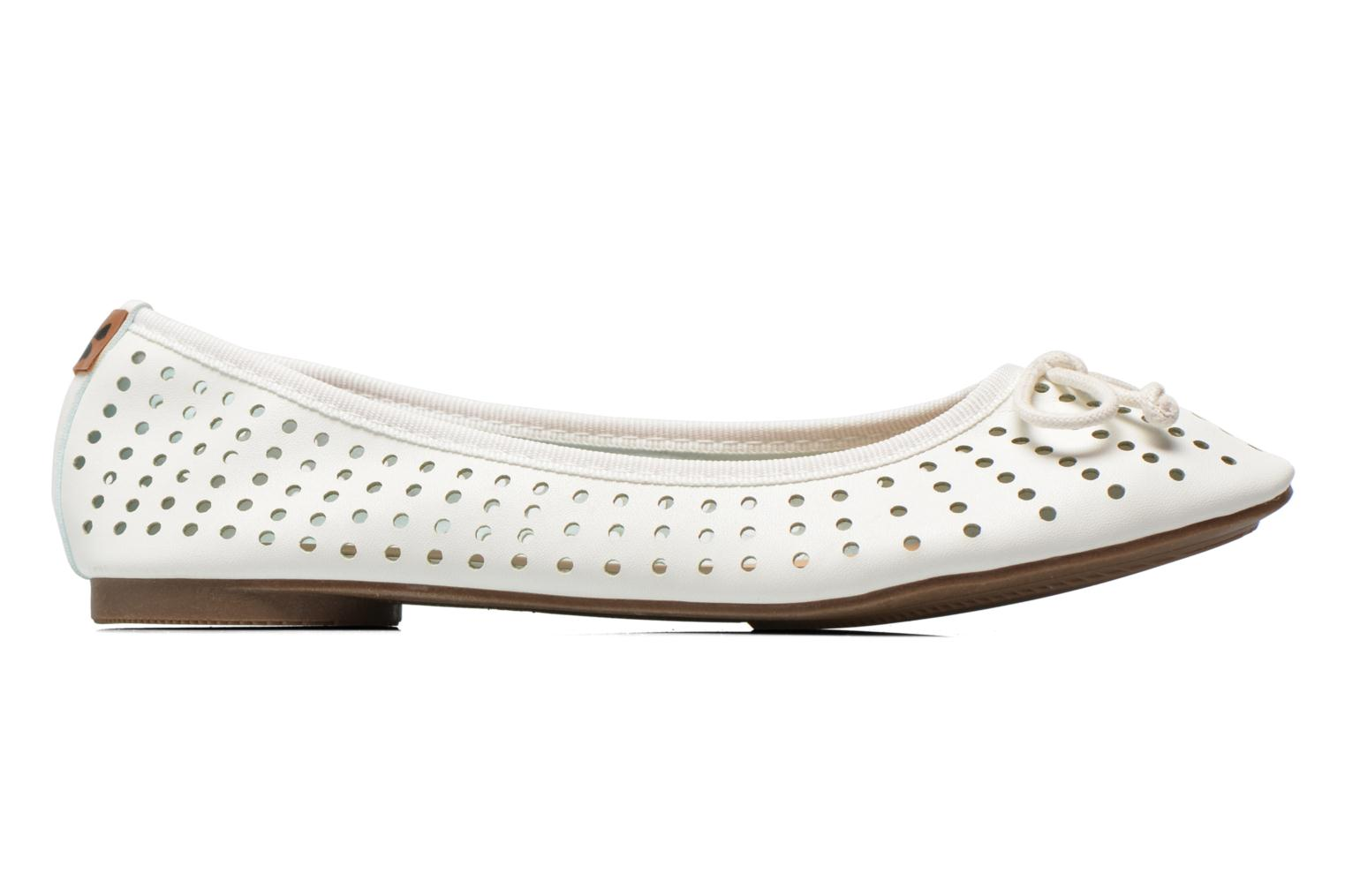 Ballerines Molly Bracken Girly Blanc vue derrière