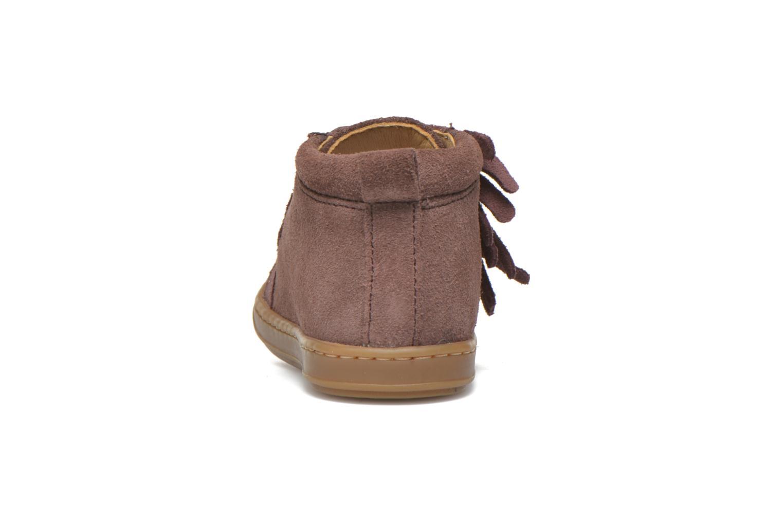Bottines et boots Shoo Pom Bouba Lace Fringe Rose vue droite