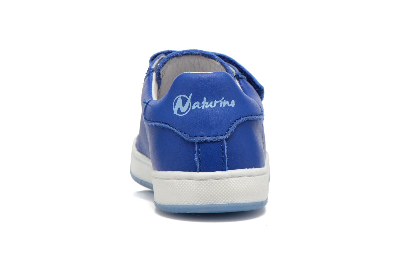 Baskets Naturino Diamante 4064 VL Bleu vue droite
