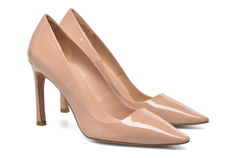 Zapatos de tacón Pura Lopez Mariela Beige vista 3/4