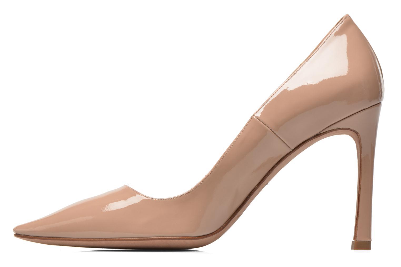 Zapatos de tacón Pura Lopez Mariela Beige vista de frente