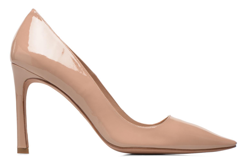 Zapatos de tacón Pura Lopez Mariela Beige vistra trasera