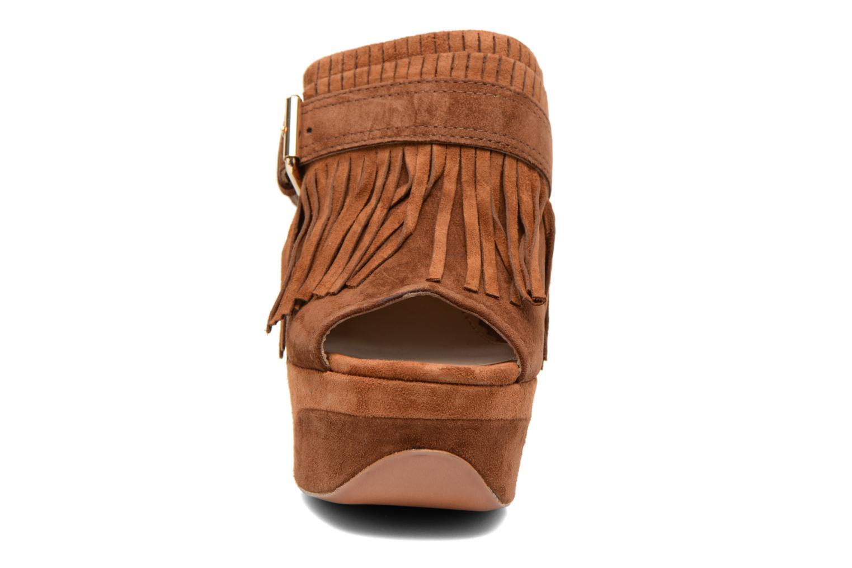 Mules et sabots Ash Byblos Marron vue portées chaussures